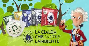 Cialde compostabili Caffè Borbone: amore espresso per l'ambiente