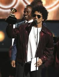bruno mars accepts the award for of the year for that s what i like at the 60th annual grammy awards at madison square garden on sunday jan