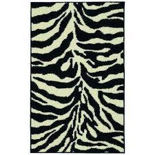 safari black ivory 3 ft x 4 ft area rug