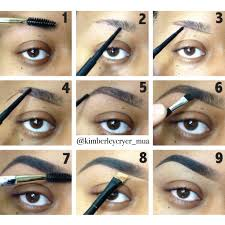 really thin or sp eyebrows check out this simple brow pictorial that i created to help you achieve full sculpted brows steps are listed below