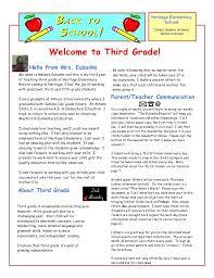 School Letters Templates Best Teacher Welcome Letters Ideas On Classroom Letter
