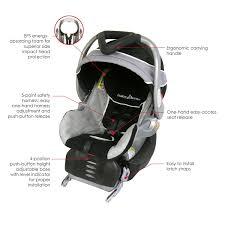 com baby trend flex loc infant car seat phantom 5 30 lively base 8