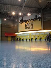 the men arena entrance