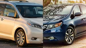 Frente a Frente: Toyota Sienna vs Honda Odyssey, listas para los ...
