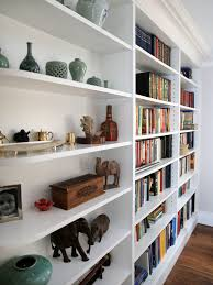 Wall Units, Interesting Built In Shelving Units Built In Shelves Diy White  Wooden Cabinet With