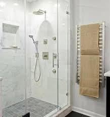 quadro series electric towel warmer shown in brushed stainless steel amba warmers s52