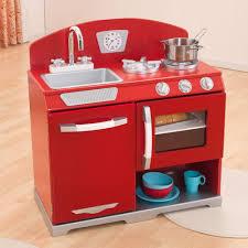 Retro Red Kitchen Groovgames And Ideas Kidkraft Retro Kitchen Red