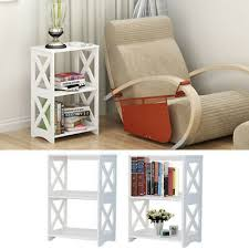 2 tier small coffee table sofa side end