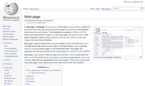 Web page - Wikipedia