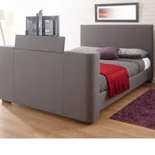 tv bed with storage.  Bed Milan Bed Company Newark TV  Grey For Tv With Storage