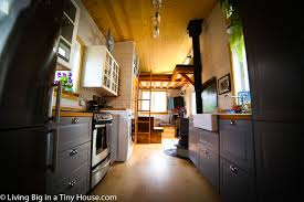 tiny house fridge. Stepping Inside, The Tiny House On Wheels Resembles A Modern Homestead Which Has Absolutely All Features You Could Possibly Hope For In Home, Fridge
