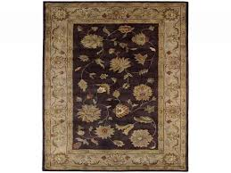 charisma eggplant ivory 9 ft 6 in x 13 ft 6 in indoor area rug for