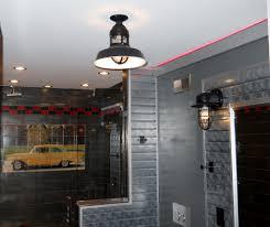 flush mount ceiling fan with light fanimation crestford inch oil rubbed bronze light elegant bathroom fans middot rustic pendant