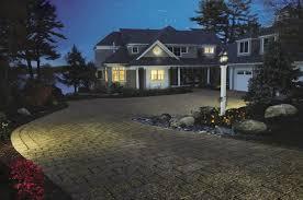 driveway lighting driveway belknap landscape co inc gilford nh