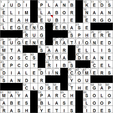 la times crossword solution 27 oct 16