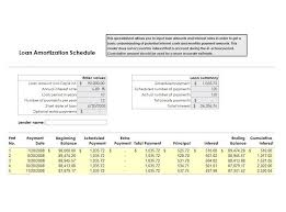 download amortization schedule 28 tables to calculate loan amortization schedule excel template lab