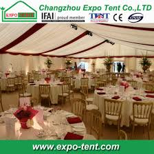 big outdoor party tent with top grade decoration pictures photos