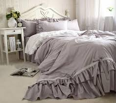 cool white ruffle bedding 69 for your duvet cover sets with white ruffle bedding