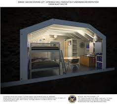 Underground Military Bases For Sale S16x24 Mil Blast Shelter The Military Bomb Shelter Includes A 65