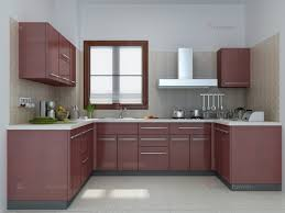U Shaped Kitchen Small Pendant Lamp Square Wood Flooring Small U Shaped Kitchen Designs