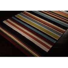 8 foot round outdoor rugs luxury rain bright stripes outdoor rug 8 ft round surya