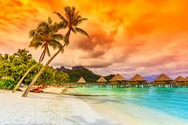 tropical islands hd wallpaper new tab theme