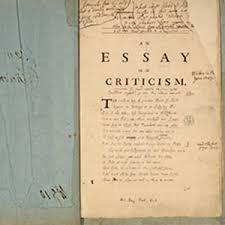 essay on criticism alexander pope s