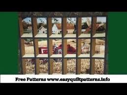 beginners quilt patterns free attic window quilt - YouTube & beginners quilt patterns free attic window quilt Adamdwight.com