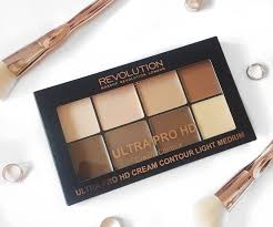 makeup revolution ultra pro hd cream contour kit