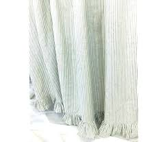 yellow gray chevron shower curtain and grey curtains liner ruffle target m l f white stripe y