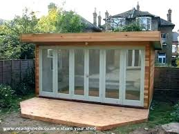 outside office shed. Backyard Shed Office Outdoor Interior Ideas Garden Outside