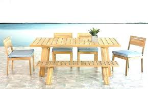 large size of teak outdoor furniture oil nz garden dining table and bench seats seat with