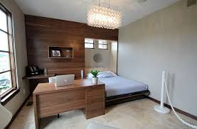 office idea. Luxury Small Guest Bedroom Office Idea 25 Versatile Home That Double A  Gorgeous Room Contemporary With Dedicated Workstation Design Pure Style By Jerry Office Idea L
