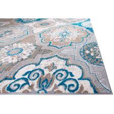 startling brown and blue area rugs modest ideas andover mills zella bluebrown rug reviews teal cievi home tan white turquoise large indoor duck egg gold