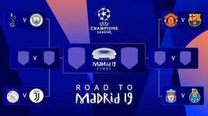 Champions League Chart 2019 Champions League Quarter Final And Semi Final Draws Uefa