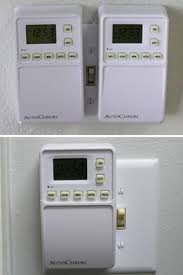 AutoChron Programmable Wall Switch Timer