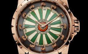 roger dubuis excalibur tells time with the honour of the knights of the round table