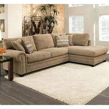 nailhead trim sectional brown chenille sectional furniture and mattress gray sectional sofa with nailhead trim