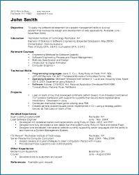 Resume Programmer Samples Sample Scientist Cv Template