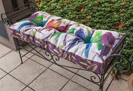 bench cushions indoor. Flocked Together Songbirds Indoor/Outdoor Bench Cushion. \ Cushions Indoor H