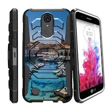 Case for LG K20 | Plus K10 2017 Only [ Armor Reloaded ] Heavy Duty with Belt Clip \u0026 Kickstand City Travel Series - Walmart.com