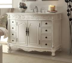 Fancy Antique White Bathroom Vanity Cool Item Presented To Your ...