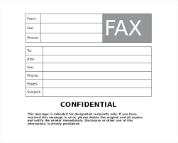 Free Fax Cover Sheet Template Word Doc Stanmartin