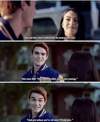 Riverdale Quotes Delectable Archie Doesnt Deserve Bettyhe Is Obviously Jealous That Her And
