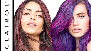color crave hair makeup and semi permanent hair color clairol