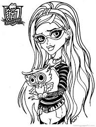 Small Picture Monster High Babies Coloring Pages FunyColoring