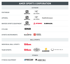 Our Business Amer Sports
