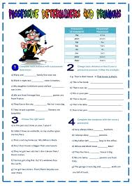 Personal And Possessive Pronouns Worksheets Worksheets for all ...