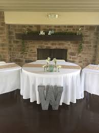 air conditioned reception area seating for 250 guests 23 round tables 25 rectangular tables bistro lighting dj area bar outdoor lighting