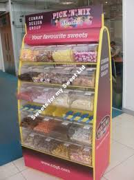 Sweets Stands Display Branded Pick n Mix 2